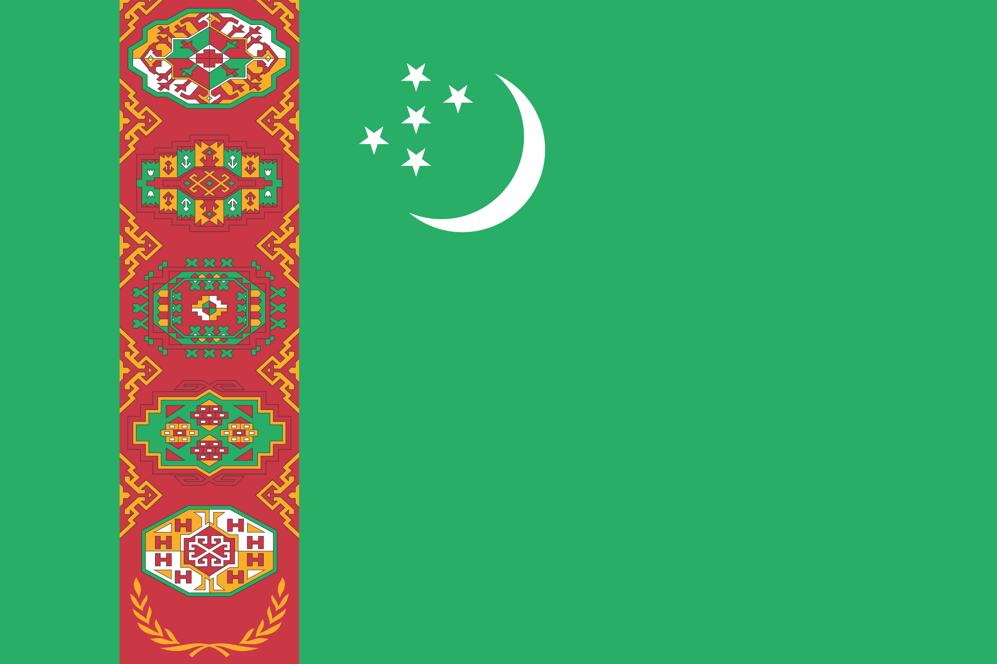 Shipping to Turkmenistan
